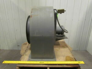 Hdbi 180 1hp Direct Drive Backward Incline Blower 3ph 2800 Cfm 1 Sp 82 Bhp