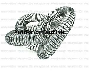 50 Ft Of Clear Hose Wire Reinforced 1 50 Flexible Vacuums Floor Scrubbers