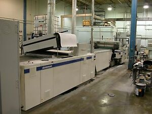 2004 Steinemann Colibri 102 Uv Coater With Reversing Unit