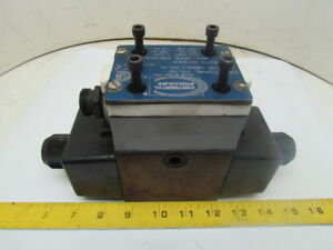 Continental Vs12m 3f gb5hl2 60l h Double Solenoid Hydraulic Control Valve