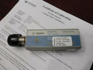 Agilent N4001a Sns Series Noise Source 10 Mhz To 18 Ghz enr 15 Db Calibrated