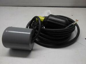 Nos Zoeller Sump Pump Switch With Weight Hardwire 18h3