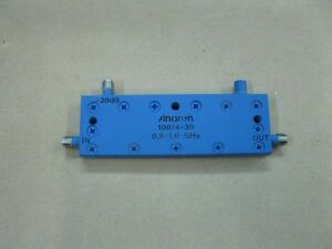 Anaren Microwave 10014 30 0 5 1 0 Ghz 30db Directional Couplers In line