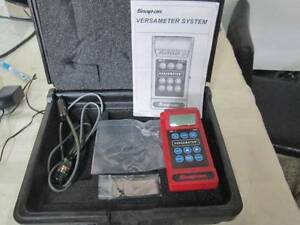 Snap on Versameter System Electronic Torque Acquistion Meter