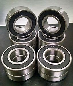 6205 2rs Ball Bearing 52 25 15 Mm Qty 10 Z3v2 Quality