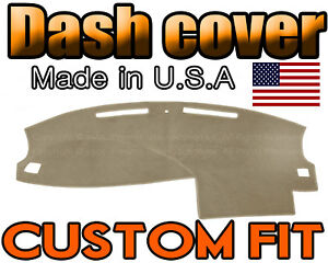 Fits 2005 2006 2007 Dodge Charger Dash Cover Mat Dashboard Pad Beige