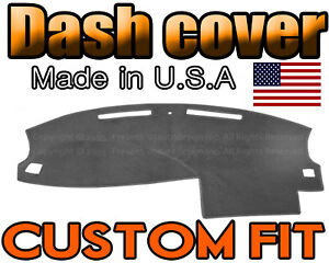 Fits 2005 2006 2007 Dodge Charger Dash Cover Mat Dashboard Pad Charcoal Grey