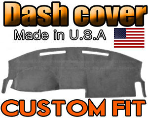 Fits 2008 2010 Dodge Charger Dash Cover Mat Dashboard Pad Charcoal Grey