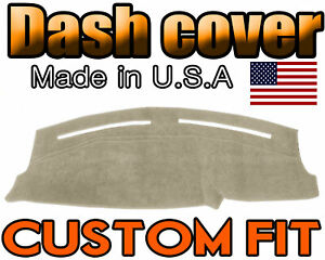 Fits 2011 2020 Dodge Charger Dash Cover Mat Dashboard Pad Beige
