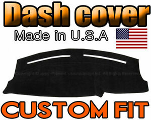 Fits 2011 2019 Dodge Charger Dash Cover Mat Dashboard Pad Black