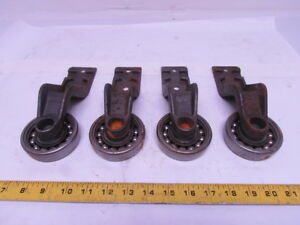 Frost 7500273 4 I beam Trolley Overhead Chain Conveyor 7 3 16 Drop Lot Of 4pcs