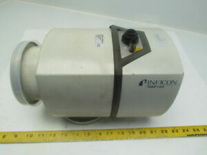 Inficon Vap100x 250 434 Vacuum Right Angle Valve Pneumatic Actuated W indicator