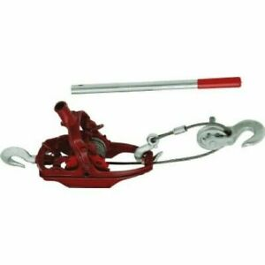 American Power Pull 15002 4 Ton Extra Heavy Duty Come Along Cable Puller
