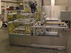 Sibe Automation Continuous Vacuum Forming Machine 24 X 36 Roll Stock Sheet