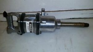 1 Impact Wrench Lug Nut Air Powered Long Shank Pneumatic master Since 1938