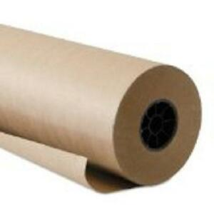 18 X 300 Kraft 60 Indented Paper Roll Shipping Packing Void Filler 1 Roll