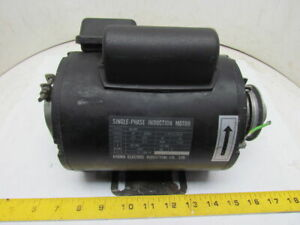 Kyowa Electric Wa def 1ph Single Phase Induction Motor 1 3hp 115 220v 1720 Rpm