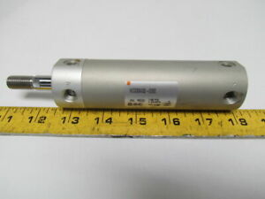 Smc Ncdgbn32 0250 Pneumatic Air Cylinder 32mm 1 1 4 bore 2 1 2 stroke Round Body
