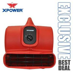 Xpower P 430 Low 3 8amp 2000 Cfm 3 Speed Air Mover Carpet Dryer Blower Floor Fan