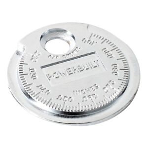 Powerbuilt Spark Plug Gap Gauge Jar 940630