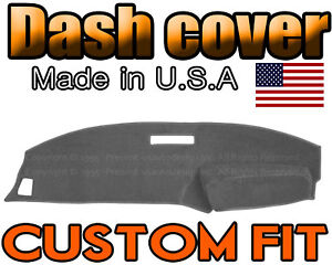 Fits 1989 1994 Ford Ranger Dash Cover Mat Dashboard Pad Charcoal Grey