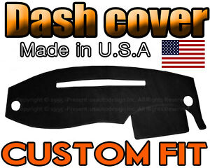 Fits 1995 2011 Ford Ranger Dash Cover Mat Dashboard Pad Black