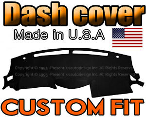 Fits 2009 2015 Nissan Maxima Dash Cover Mat Dashboard Pad Black