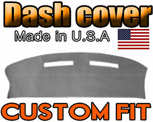Fits 1980 1989 Lincoln Town Car Dash Cover Mat Dashboard Pad Charcoal Grey