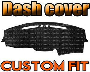 Fits 2005 2008 Jeep Grand Cherokee Dash Cover Mat Dashboard Pad Black