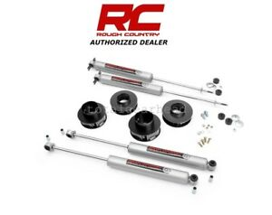 1999 04 Jeep Wj Grand Cherokee 4wd 2 Rough Country Suspension Lift Kit 69530