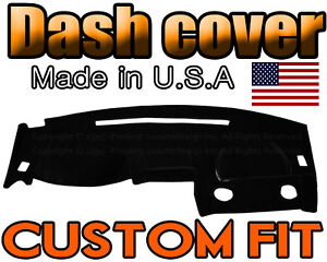 Fits 2000 2005 Mitsubishi Eclipse Dash Cover Mat Dashboard Pad Black