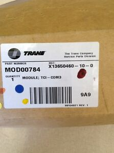 Trane Mod00784 Module Local Human Interface