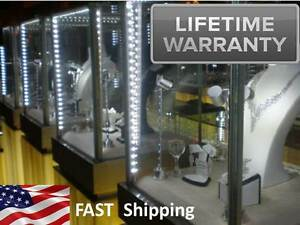 Led Custom Lighting For Storefront Window Displays Display Cases Showcases