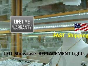 Showcase Lighting Antique Jewelry Replacement Universal 150 Led Light Kit