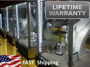 Jewelry Showcase Lighting 4 Ft Kit Antique Pawn Jewelry Display Case Lights