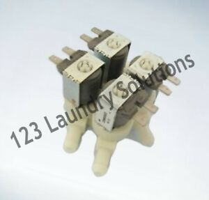 D Generic Washer 4 Way 220velbi Water Valve For Continental Girbau 129411