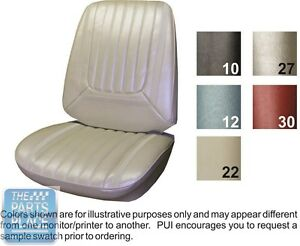 1969 Skylark Custom Gs 350 Gs 400 Parchment Front Buckets Seat Cover Pui