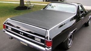 1968 72 Chevy El Camino Hatch Style Tonneau Cover By Craftec Covers