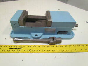 6 Precision Machine Machinist Bench Drill Milling Vise W handle 5 1 8 Opening