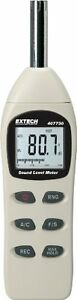 Extech 407730 40 to 130 decibel Digital Sound Level Meter New Free Shipping