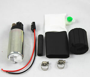 255lph High Performance Fuel Pump With Install Kit Gss341 Replacement New