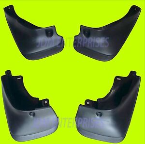 Toyota Corolla 1993 1997 Splash Guard Mud Flaps 93 94 95 96 97 4dr Sedan Only