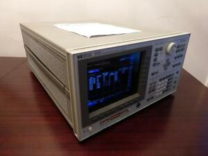 Agilent Hp 4156a Precision Semiconductor Parameter Analyzer Calibrated