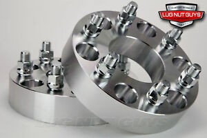 2 Wheel Spacers Adapters 6x135 To 6x5 5 1 5 Thick Ford 6 Lug To Chev 6 Lug