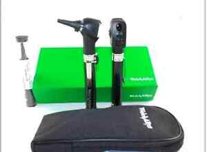 3x Medical Diagnostic Set Pocket Junior 95001 Opthalmoscope Otoscope Welch Allyn