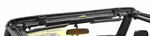 1997 2006 Jeep Wrangler Factory Soft Top Header Bar Replacement Channel