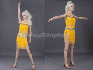 Female Mannequin Flexible Head Arms And Legs Dress Form Display md z ffxf