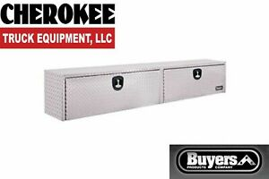 Buyers Products 1701556 Aluminum Topside Toolbox 13 H X 16 D X 88 W