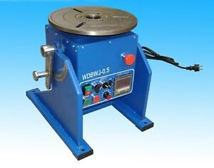 New 110 Lbs 50kg Automatic Welding Positioner Turntable Fast Shipping