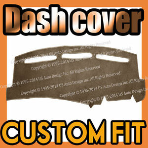 Fits 2006 2006 Mitsubishi Lancer Dash Cover Mat Dashboard Pad Taupe